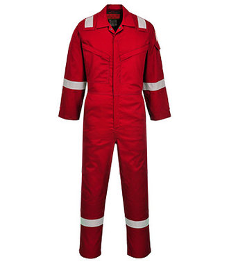 AF73 - Araflame Silver Coverall - Red - R
