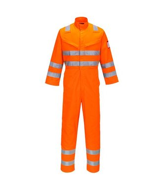 AF91 - Combinaison Araflamme Hi-Vis multirisques - Orange - R