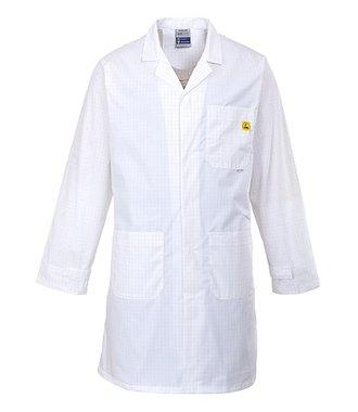 AS10 - Antistatik ESD Mantel - White - R