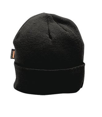 B013 - Knit Cap Insulatex Lined - Black - R