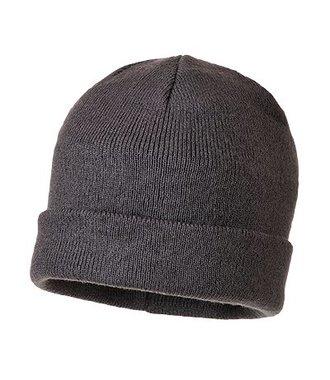B013 - Knit Cap Insulatex Lined - Grey - R
