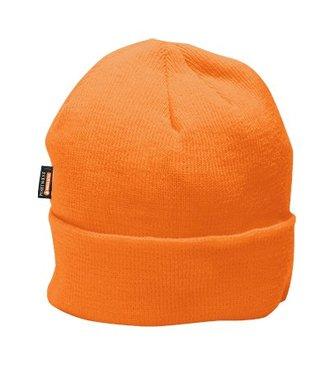 B013 - Knit Cap Insulatex Lined - Orange - R