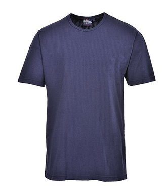 B120 - Thermal T-Shirt Short Sleeve - Navy - R