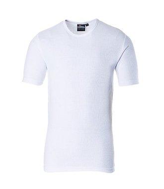 B120 - Thermal T-Shirt Short Sleeve - White - R