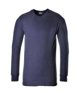 B123 - Thermal T-Shirt Long Sleeve - Navy - R
