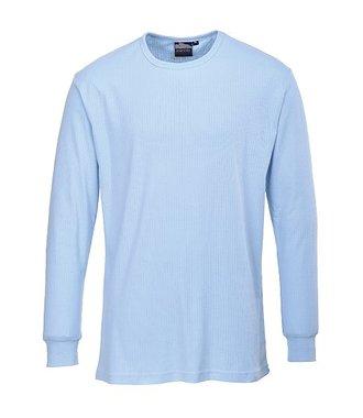 B123 - Langarm Thermo-T-Shirt - Sky - R