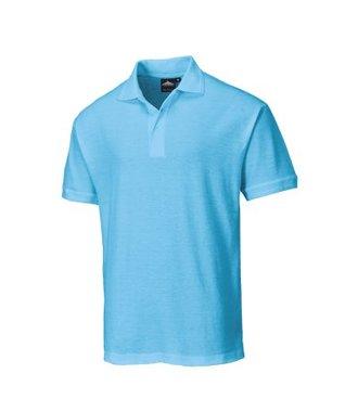 B209 - Naples Damen Polo-Shirt - Sky - R