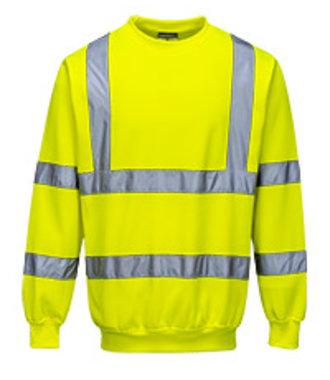 B303 - Hi-Vis Sweatshirt - Yellow - R
