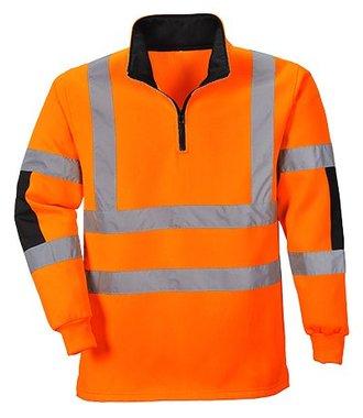 B308 - Xenon Rugby Shirt - Orange - R