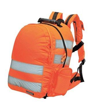B904 - Quick Release Hi-Vis Rugzak - Orange - R