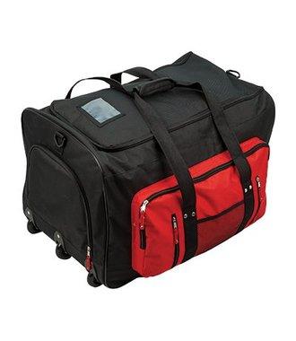 B907 - De Multi pocket Trolley tas - Black - R