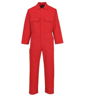 BIZ1 - Bizweld Flame Resistant Coverall - Red T - T
