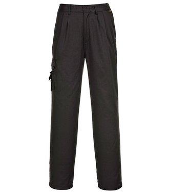 C099 - Pantalon treillis Femme - BlackT - T