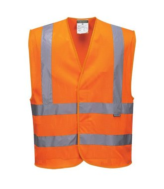 C370 - MeshAir Band & Brace Vest - Orange - R