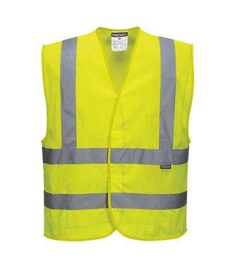 C370 - MeshAir Band & Brace Vest - Yellow - R