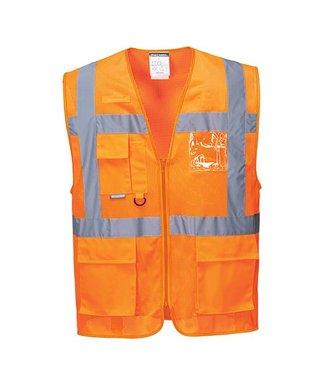 C376 - Athens MeshAir Executive Vest - Orange - R