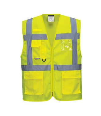 C376 - Athens MeshAir Executive Vest - Yellow - R