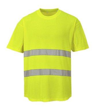 C394 - Mesh T-shirt - Yellow - R