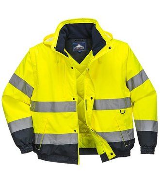 C468 - Blouson 2-en-1 HiVis - Yellow - R