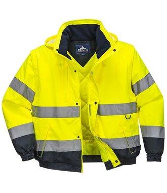 C468 - HI-Vis 2-in-1 Jacket - Yellow - R