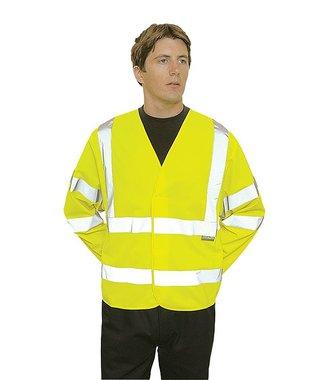 C473 - Hi-Vis Two Band & Brace Jacket - Yellow - R