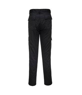 C711 - Pantalon combat coupe ajustée slim - Black - R