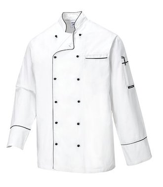 C775 - Veste de Chef Cambridge - White - R