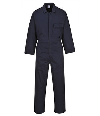 C806 - Cotton Coverall - Navy - R