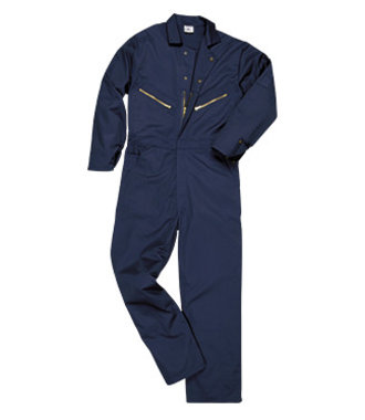 C808 - Portwest Coverall - Texpel SOS Finish - Navy - R