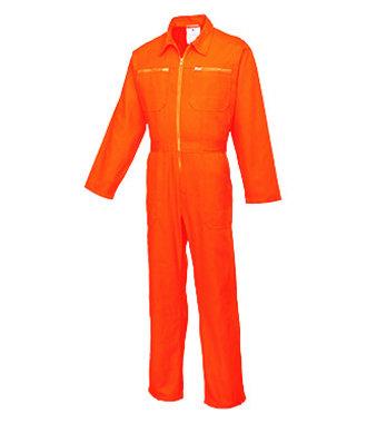 C811 - Cotton Boilersuit - Orange - R