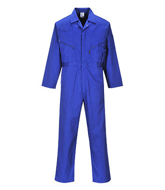C813 - Liverpool Zip Coverall - Royal - R