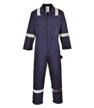 C814 - Iona Cotton Coverall - Navy - R