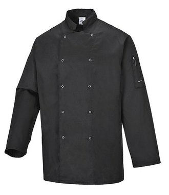 C833 - Veste de cuisine Suffolk - Black - R