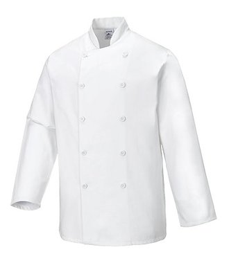 C836 - Veste de cuisine Sussex - White - R
