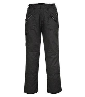 C887 - Pantalon Action ceinture elastiquée - Black - R