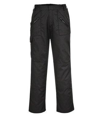 C887 - Pantalon Action ceinture elastiquée - BlackT - T