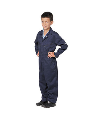 C890 - Youth's Coverall - Navy - R