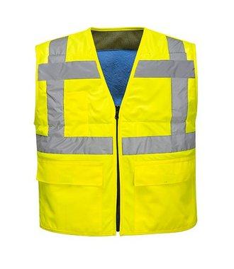 CV02 - High Vis Cooling Vest - Yellow - R
