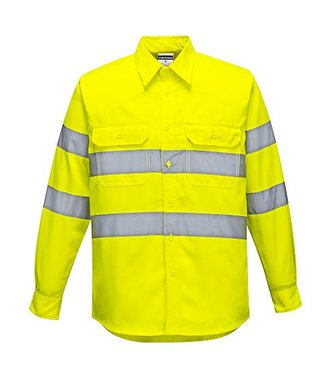 E044 - Warnschutz Shirt - Yellow - R