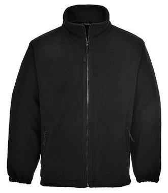 F205 - Aran Fleece Jacket - Black - R