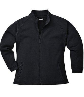 F282 - Aran Damen Fleece-Jacke - Black - R
