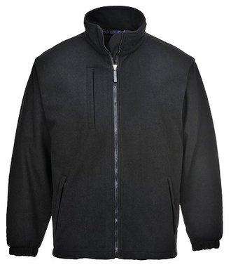 F330 - BuildTex™ laminiertes Fleece (3L) - Black - R
