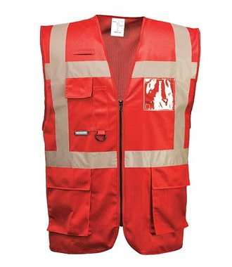 F476 - Iona Executive Vest - Red - R
