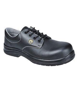 FC01 - Portwest Compositelite ESD Laced Safety Shoe S2 - Black - R