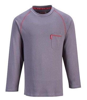 FR01 - T-shirt Bizflame encolure ras du cou - Grey - R