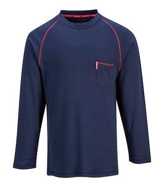 FR01 - T-shirt Bizflame encolure ras du cou - Navy - R