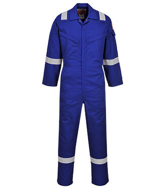 FR21 - Flame Resistant Super Light Weight Anti-Static Coverall 210g - Royal - R