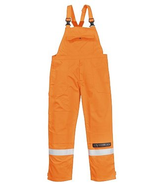 FR27 - Bizflame Plus Bib and Brace - Orange - R