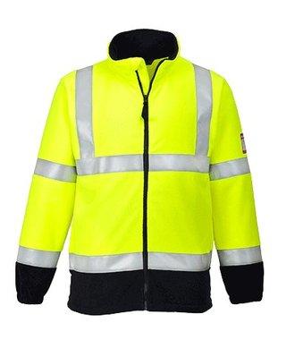 FR31 - Flame Resistant Anti-Static Hi-Vis Fleece - Yellow - R