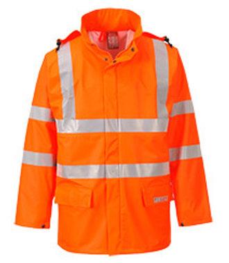 FR41 - Veste de pluie HiVis FR Sealtex - Orange - R